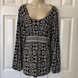 Axcess print blouse